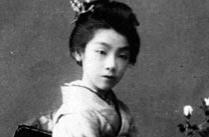 1908年日本的清纯艺妓