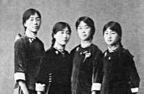 民国时期的女生校服