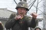 朝鲜备战男女士兵苦练拳法枪法
