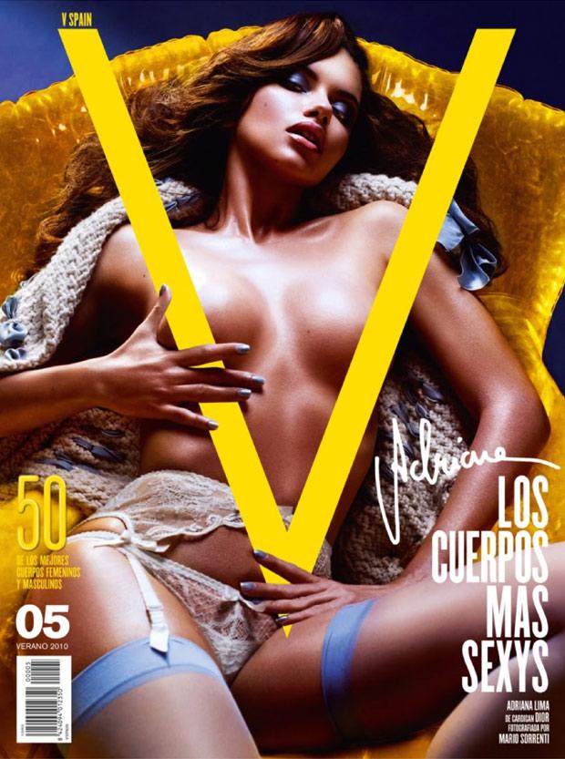 欧美女星全裸登时尚杂志 性感封面集锦