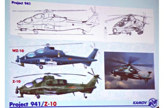 """卡莫夫公布的""""941""""项目展板"""