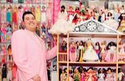 狂热粉丝打造梦想屋收藏芭比娃娃