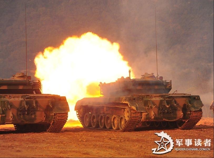 我军96式坦克主炮弹药真容