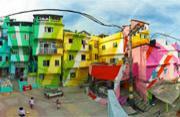 街头艺术家改造里约贫民区