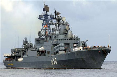 俄军舰的俄式风格现在代表着落后