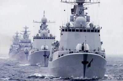 051C是用051B的舰体加装了俄式区域防空系统