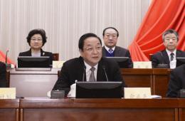 全国政协十二届常委会举行第一次会议