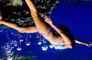 女摄影师冒险潜水拍海底世界