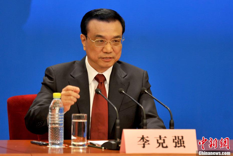 李克强总理首次会见中外记者并答问
