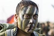 以色列女兵也有彪悍的一面