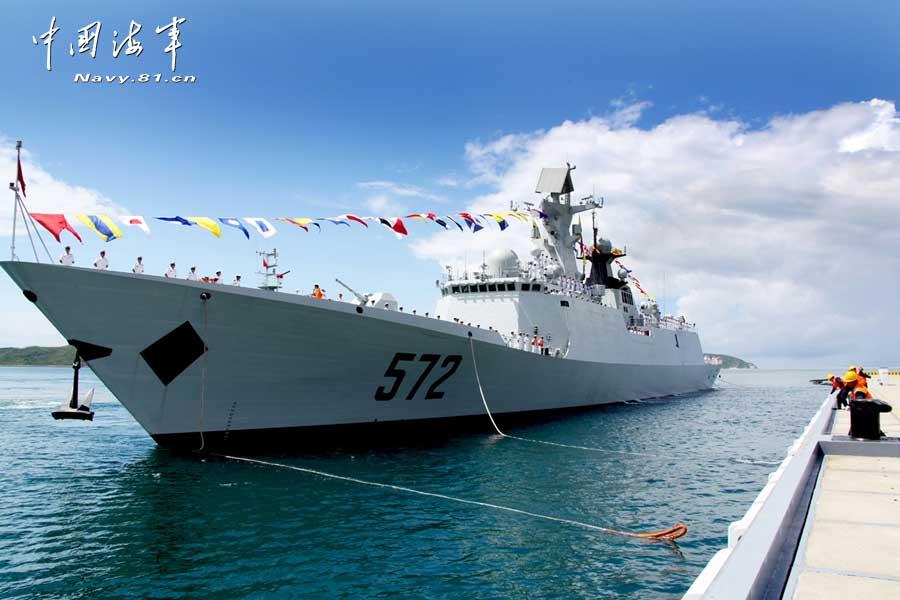 官方公开新服役054A舰诸多细节