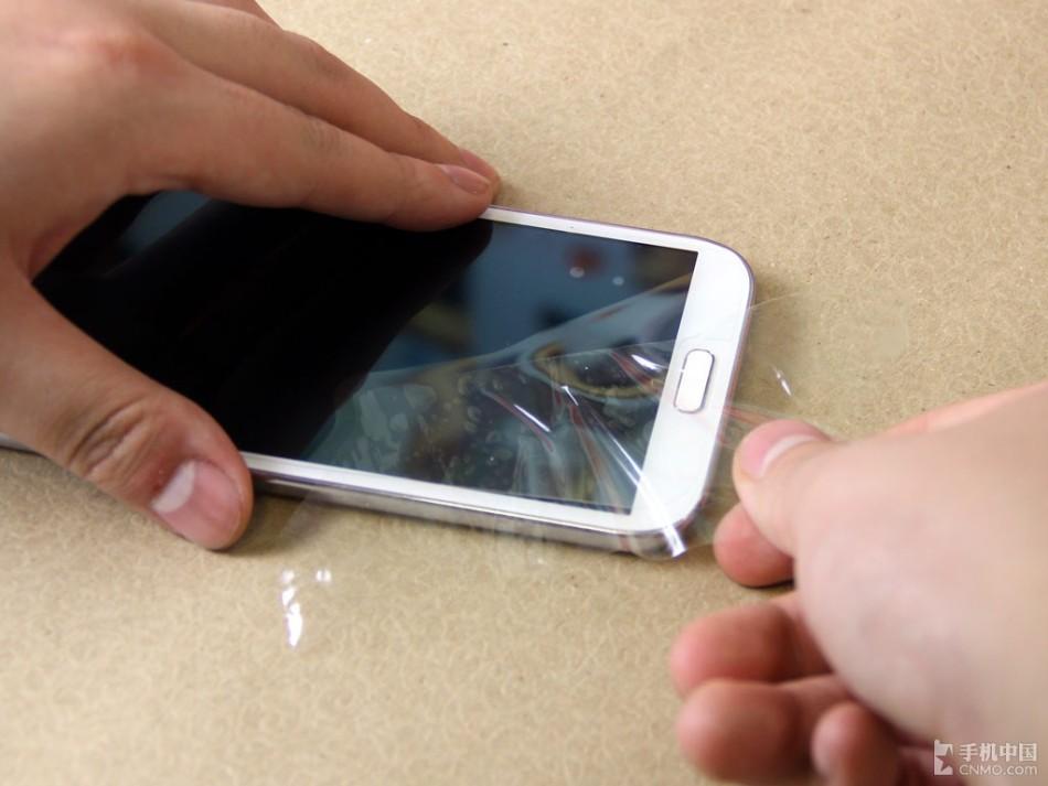 手机 青田/手机屏幕怕划伤手把手教你手机贴膜(30/35)