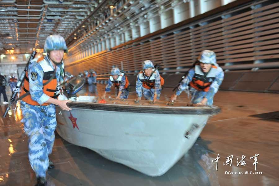 中国海军特混联合机动编队南海夺岛演练【组图】 - 春华秋实 - 开心快乐每一天--春华秋实