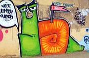 埃及女摄影师拍中东街头涂鸦