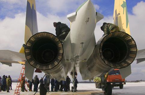 苏-35所谓4++战机号称战力仅次五代机