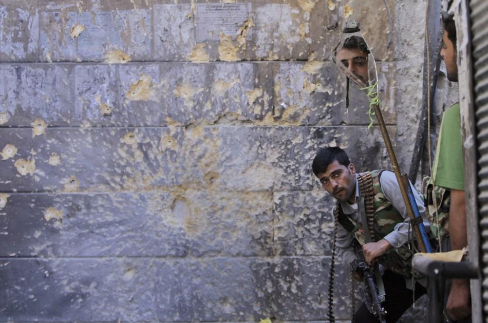 叙利亚冲突两周年:危难中的生存