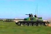 解放军99坦克草原狂飙