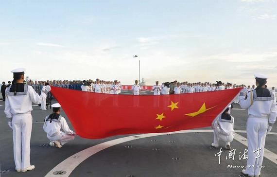 我舰发射信号弹警告越南渔船 所谓枪击系捏造