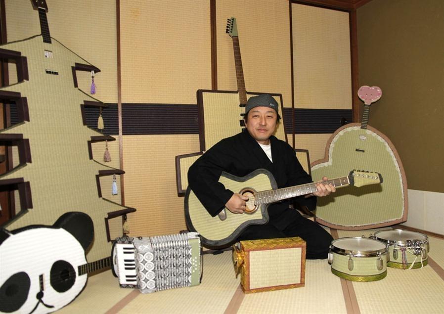 手工 榻榻米/日手工艺人自制乐器演奏用音乐再现榻榻米魅力...