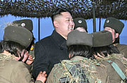 金正恩赞朝女火箭炮兵胜过核弹