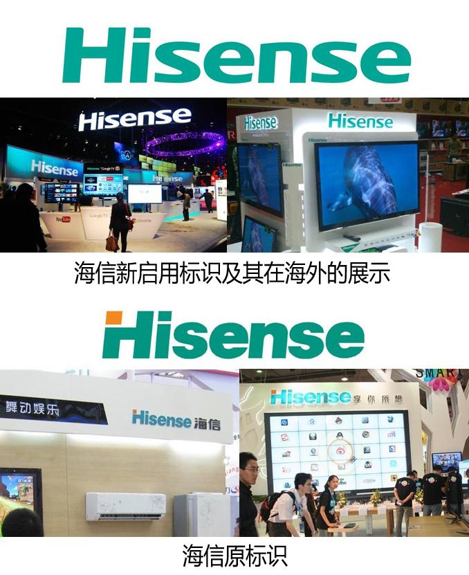 中国海信启用全新VI标识 彰显国际化战略自信