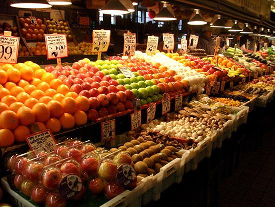 派克市场 沿着爱情的脉络 探游西雅图各大景点高清图片