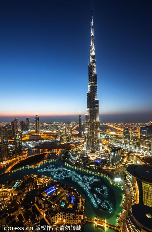 社会资讯_摄影师俯瞰迪拜城市美景:感受中东奇迹_科技_环球网