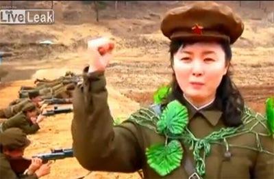 除了人民军外朝鲜还有相当数量的民兵
