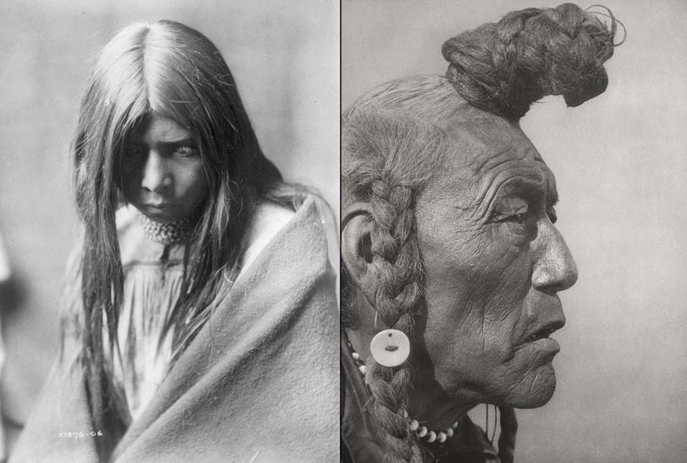 印第安人/一个世纪前的北美印第安人肖像(5/19)
