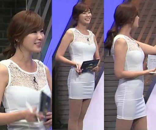 韩国女主播衣着暴露被指像午夜成人节目_娱乐