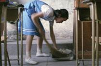 八十年代的清纯中学生
