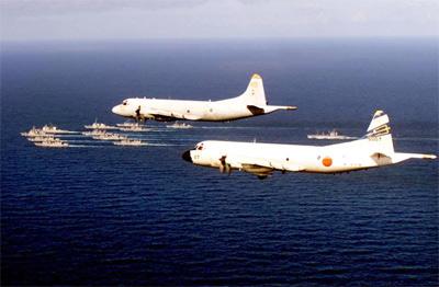 日本海上自卫队P-3巡逻机