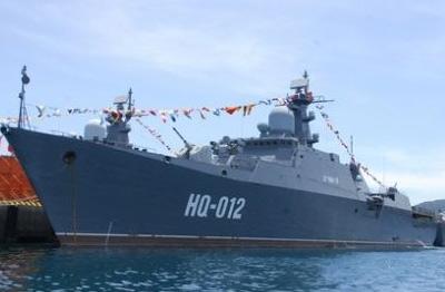 越南海军最先进的家当:猎豹级轻护