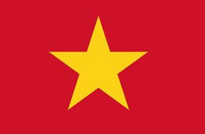 越南国旗和中国的很类似