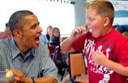 """美国总统奥巴马的""""幕后""""生活"""