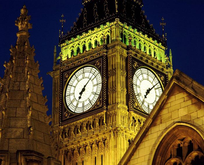 """伦敦大本钟(英国) """"大本钟""""曾是这个钟楼里大钟的昵称,而如今"""