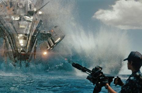 """美国海军经常需要和""""外星人""""决战"""