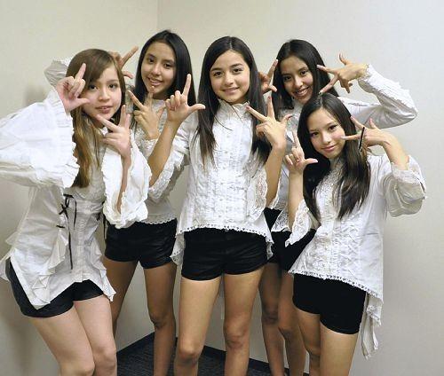 由日籍巴西裔5名小美女组成的琳达3世近日将在日本