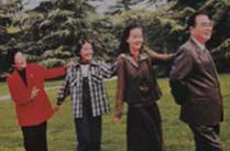 李鹏罕见家庭老照片