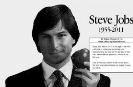 怀旧版Mac风格网站纪念乔布斯