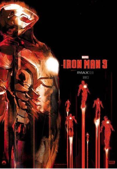 社会资讯_《钢铁侠3》发布IMAX版海报 新战衣金光闪闪_娱乐_环球网
