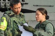新加坡女装甲兵在德国罕见亮相