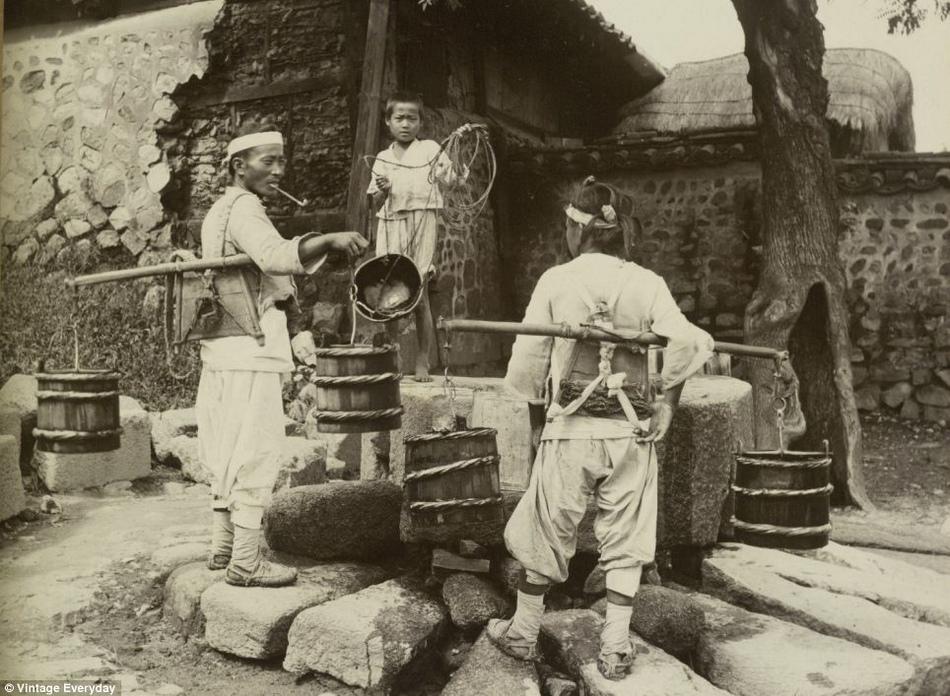 朝鲜/19世纪末20世纪初朝鲜老照片曝光(9/22)...