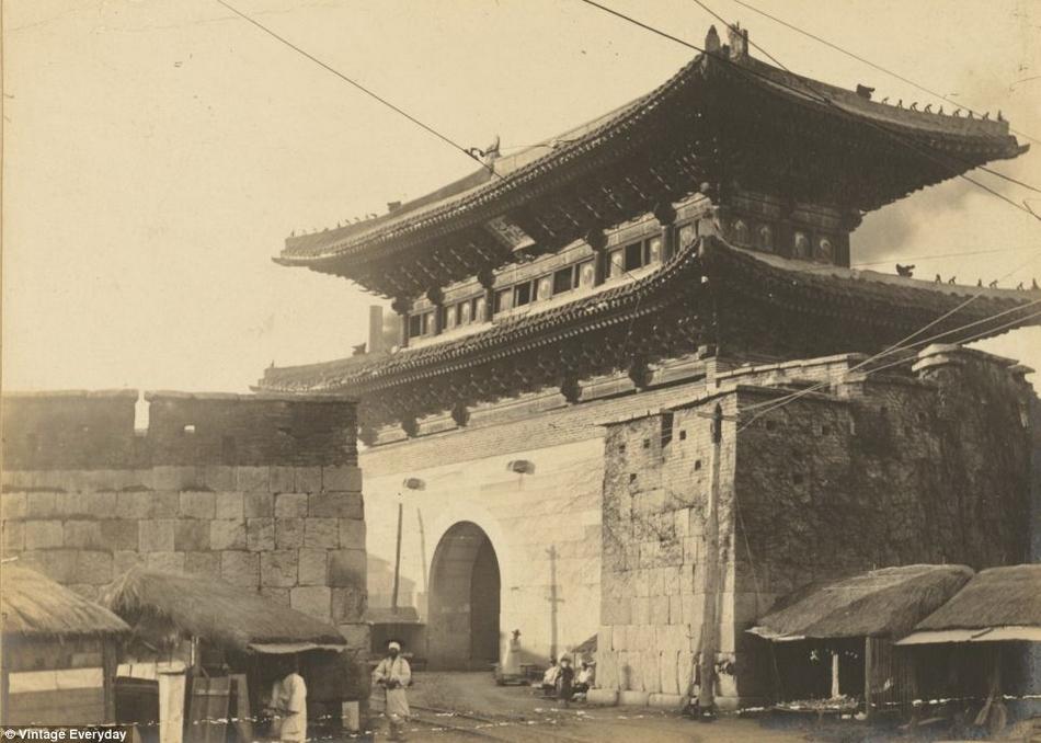 朝鲜 汉城/19世纪末20世纪初朝鲜老照片曝光(11/22)...
