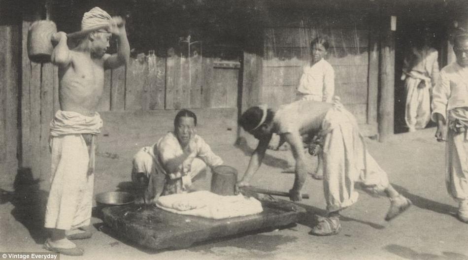 朝鲜 日本 李朝/19世纪末20世纪初朝鲜老照片曝光(15/22)...