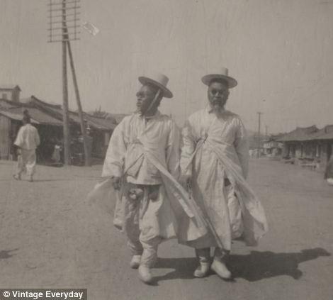 朝鲜/19世纪末20世纪初朝鲜老照片曝光(17/22)...