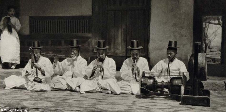 朝鲜/19世纪末20世纪初朝鲜老照片曝光(20/22)...