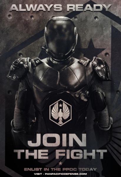 科幻电影《环太平洋》发布三张全新宣传海报