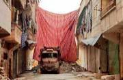 阿勒颇居民脆弱的生命屏障:布帘