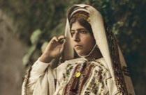 1919年的巴勒斯坦彩照